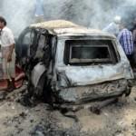 Возле резиденции президента в Йемене террористы взорвали автомобиль