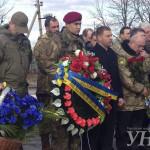 В Донецкой области почтили память погибших год назад под Волновахой9