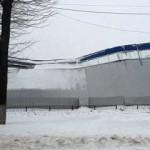 Из-за снега в Полтаве обрушилась крыша спорткомплекса