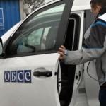 Представителей ОБСЕ боевики не пустили на склады оружия в Комиссаровке