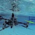Создан дрон, умеющий летать, плавать и нырять