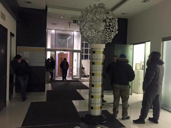 Сотрудники «Альфа» блокируют киевский офис «Укропа»4