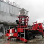 Пожар в Ужгороде