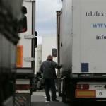 На границе Беларуси и Литвы скопилось большое количество грузовиков