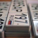 Водители стали массово менять автомобильные номера в Крыму
