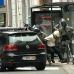 В момент задержания Салаха Абдеслама прогремели взрывы
