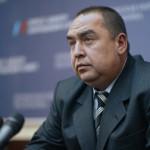 Допрос лидера «Луганской Народной Республики»