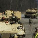 Еще больше военной техники было отравлено в Европу