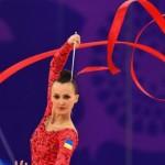 На кубке мира в Лиссабоне украинская гимнаста завоевала серебро