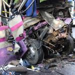 Трое несовершеннолетних были в автобусе в момент аварии во Львове