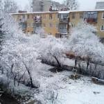 Львовскую область посетила снежная стихия