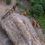 Неизвестное дикое племя было найдено в лесах Амазонки