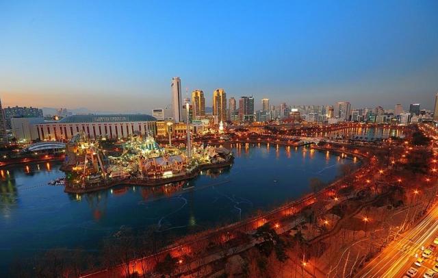 Красивый город Сеул2