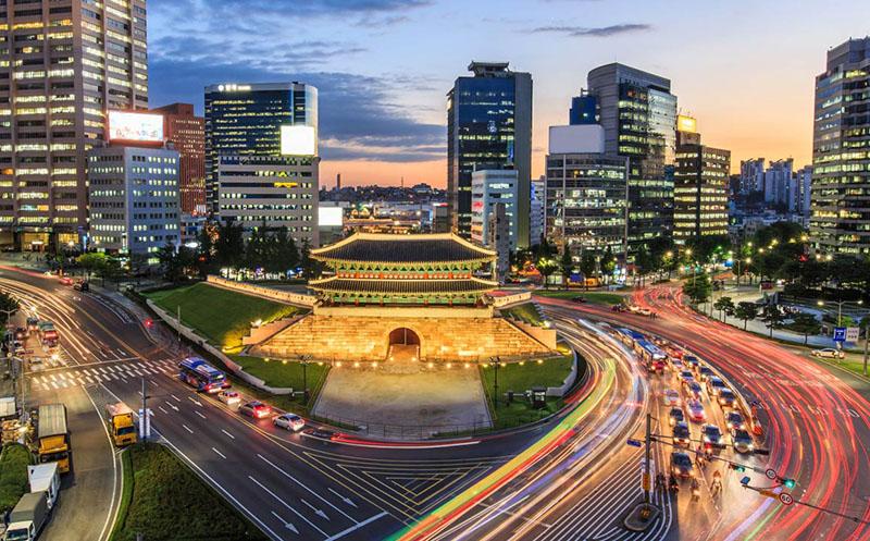 Красивый город Сеул3