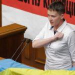 Первый рабочий день народного депутата Н. Савченко
