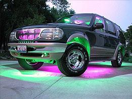 Светодиодные ленты «SvetAuto» – легкий тюнинг автомобиля своими руками